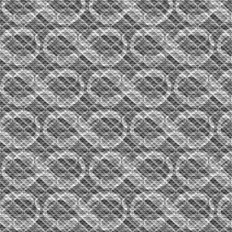 infinite infinities (B&W) fabric by weavingmajor on Spoonflower - custom fabric
