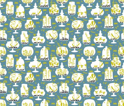 Tiny Gardens Too! fabric by pattyryboltdesigns on Spoonflower - custom fabric