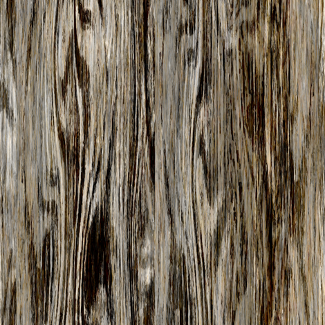 Beached Driftwood woodgrain fabric by joanmclemore on Spoonflower - custom fabric