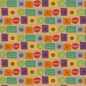 Type_pattern_Cat_kraft_to_fabric
