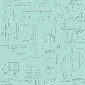 Mint & Grey Statistical Analysis Blueprint-ch