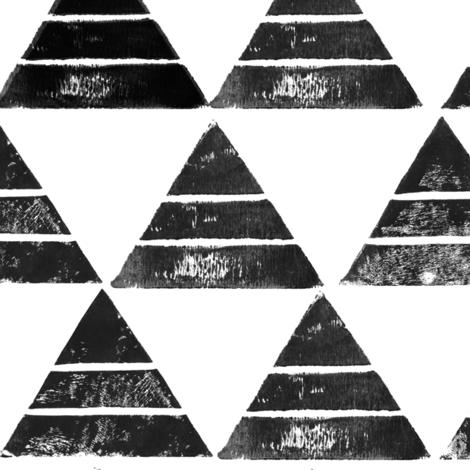 Triangle Print fabric by london_dewey on Spoonflower - custom fabric