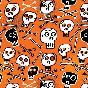 Skulls (orange)