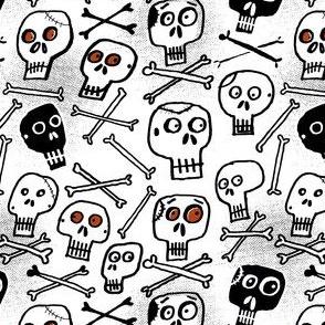 Skulls (white)