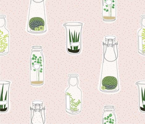 Kitchen Gardener fabric by spoonnan on Spoonflower - custom fabric