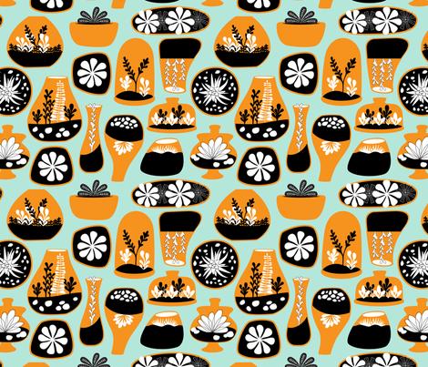 Terrific Terrariums fabric by nadiahassan on Spoonflower - custom fabric
