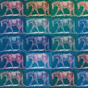 walking_horse_textile