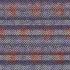 Faded Hearts Graffiti