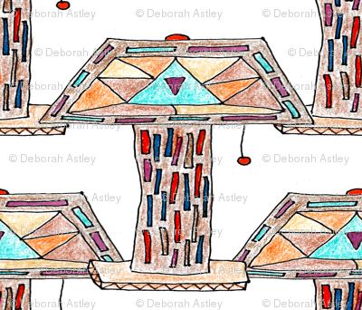 Lamp (crayon drawing)