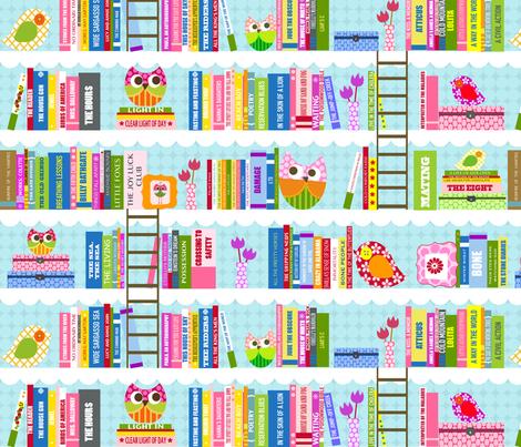 Library - Nancy fabric by natitys on Spoonflower - custom fabric