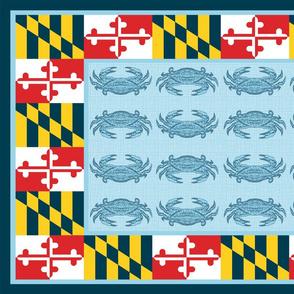 Maryland Crab Scarf