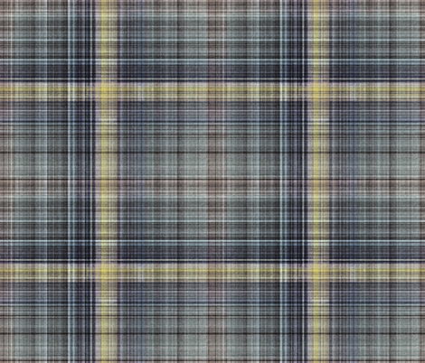 Other Worlds Plaid fabric by anniedeb on Spoonflower - custom fabric