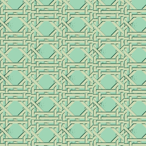 trellis soft blue