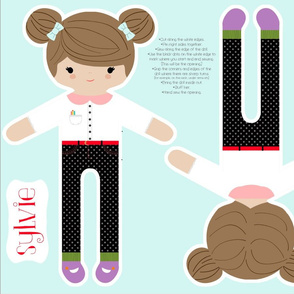Sylvie Sew your own doll
