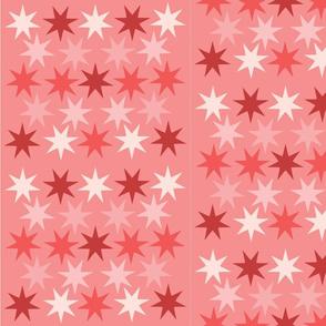 pink star shower