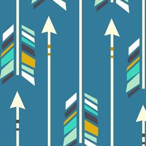 Large Arrows: Little Boy Blue