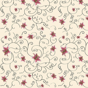 Large_lilies_on_beige_background