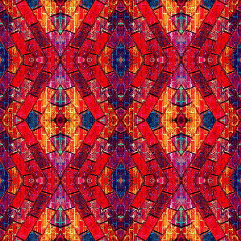 Medium Brick Fusion fabric by spontaneouscombustion on Spoonflower - custom fabric