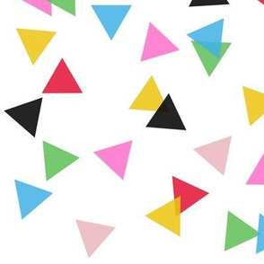 Triangle Confetti Transparent