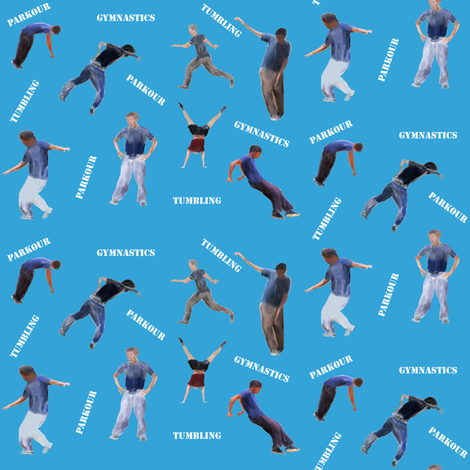 Keep Active fabric by sombrilla on Spoonflower - custom fabric