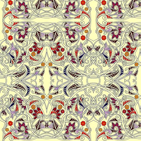 Simple Romance fabric by edsel2084 on Spoonflower - custom fabric