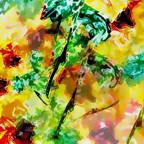 Hibiscus impressionist