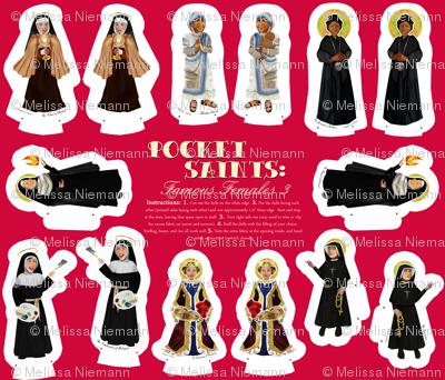 Famous Female Saints 4