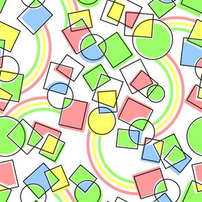 Seamless geometrical background.