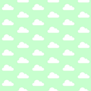 Mint Green Clouds