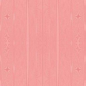 sherbet pink moire stripes