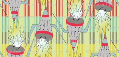 rockets on stripes