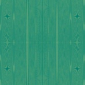 green-gold moire stripe