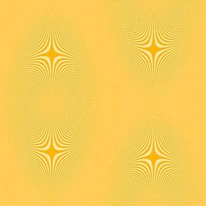saffron moire stars