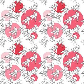 Swallow Spots Pink