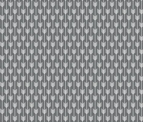 arrows grey small fabric by holli_zollinger on Spoonflower - custom fabric