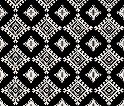 tribal_circles fabric by holli_zollinger on Spoonflower - custom fabric