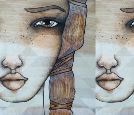 freya enlarged fabric by holli_zollinger on Spoonflower - custom fabric