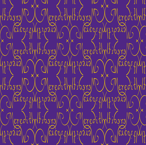 Meredith-JMU fabric by snazzyfrogs on Spoonflower - custom fabric  sc 1 st  Spoonflower & Meredith-JMU fabric - snazzyfrogs - Spoonflower