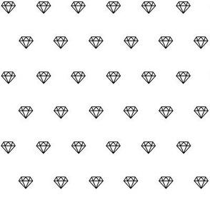 diamond outlines