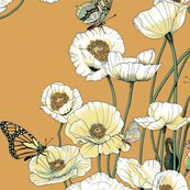 Rrrrrrpoppies_and_butterflies_pale_yellow_blossoms_on_gold_shop_thumb
