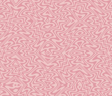 butterfly swirl in spring pinks fabric by weavingmajor on Spoonflower - custom fabric