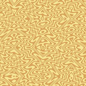 butterfly swirl in spring golds