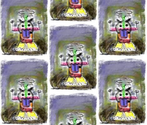 GrumpyDay fabric by leannethomas on Spoonflower - custom fabric