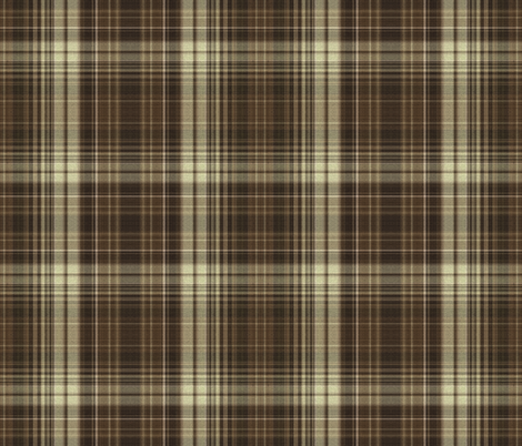 Super Sewing Needles Plaid fabric by anniedeb on Spoonflower - custom fabric