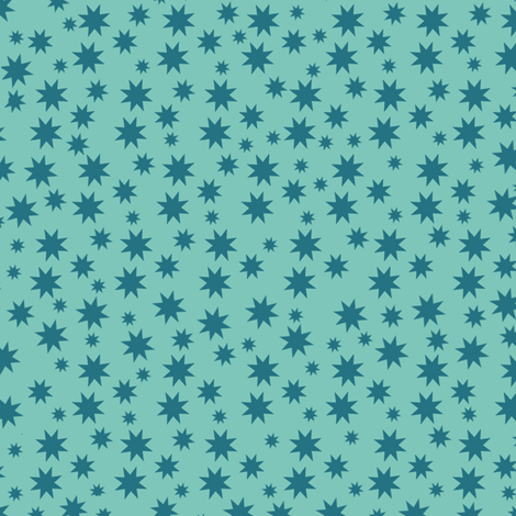 Stars basic pistache fabric by susiprint on Spoonflower - custom fabric