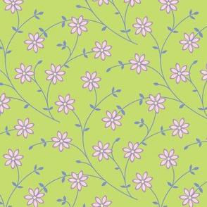 Daisy Vine bright green