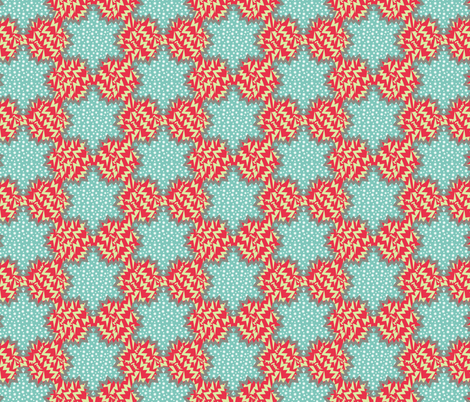 stars and tribes fabric by susiprint on Spoonflower - custom fabric