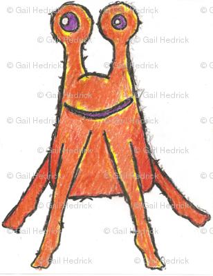 OrangeAlienCrayon