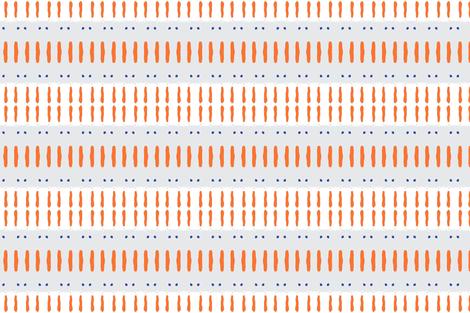 Shadow orange and grey 6 fabric by miamaria on Spoonflower - custom fabric
