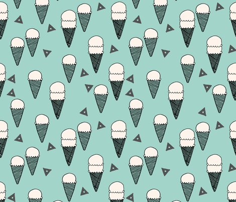 Rrice_cream_mint_background_shop_preview